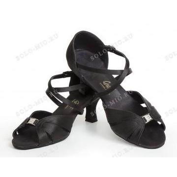 Женские туфли для бальных танцев «Соло плюс» «L518» латина 5см