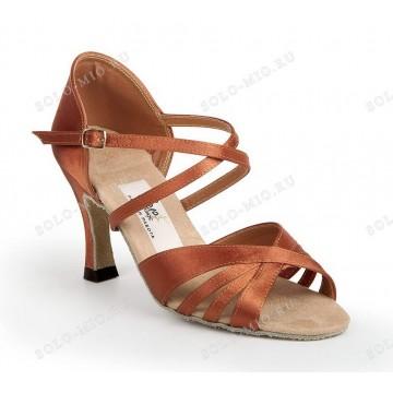 Женские туфли для бальных танцев «Соло плюс» «L711» латина 7см