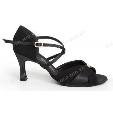 Женские туфли для бальных танцев «Соло плюс» «L714» латина 7см