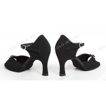 Женские туфли для бальных танцев «Соло плюс» «L715» латина 7см
