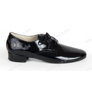 Мужские туфли для бальных танцев «Соло плюс» «S202R» стандарт