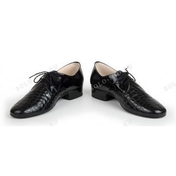 Мужские туфли для бальных танцев «Соло плюс» «S204» стандарт