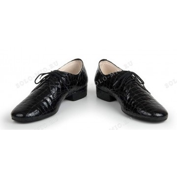 Мужские туфли для бальных танцев «Соло плюс» «S205» стандарт