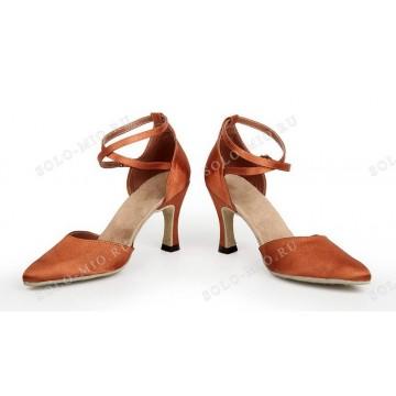 Женские туфли для бальных танцев «Соло плюс» «S703» стандарт 5см