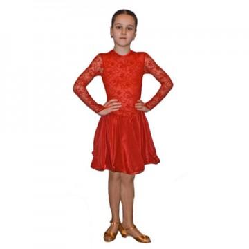 Рейтинговое платье для бальных танцев «Соло плюс» «PG023840»