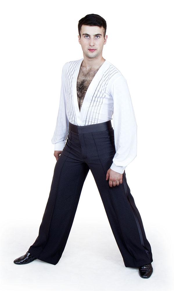 2ad5d04ba7939f8 Рубашка-боди для бальных танцев «Соло плюс» «RLZ» мужская купить в ...
