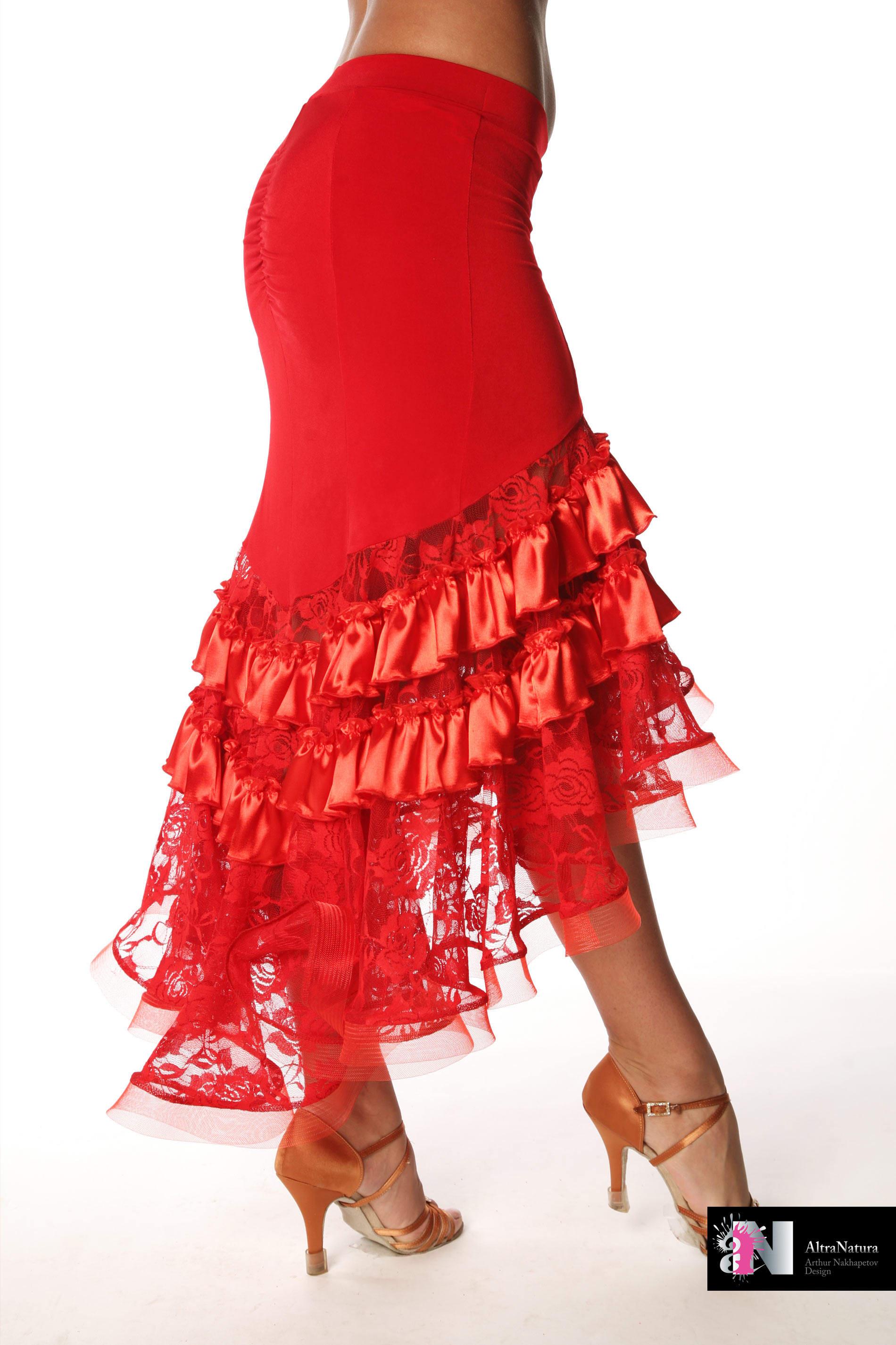 Танцующая юбка своими руками