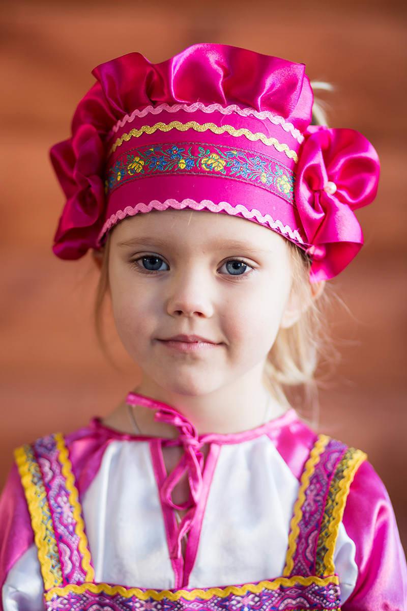 Русский головной убор для девочки своими руками